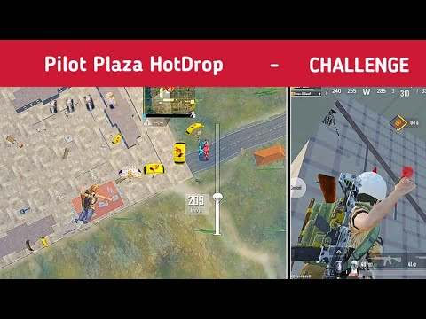 Pilot Plaza Hotdrop - Pubg mobile lite gameplay by dj gamer