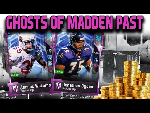 GHOST OF MADDEN PAST PACKS *SNOW KING* | NEW 99 OVERALL | MADDEN 19 ULTIMATE TEAM