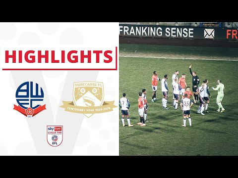 Bolton Morecambe Goals And Highlights