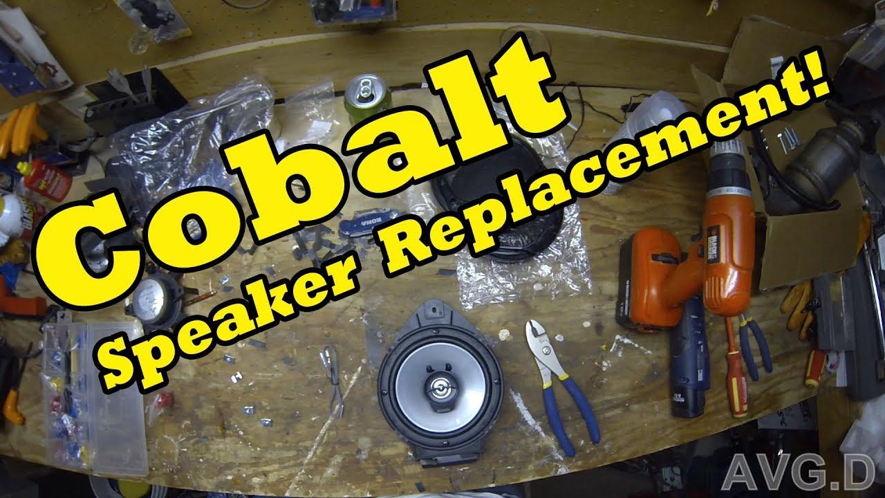 Cobalt Door Speaker Replacement Repair