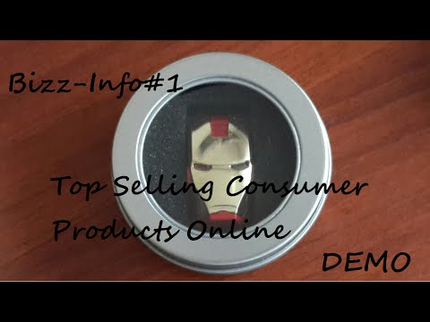Top Selling Consumer Products Online. Demo