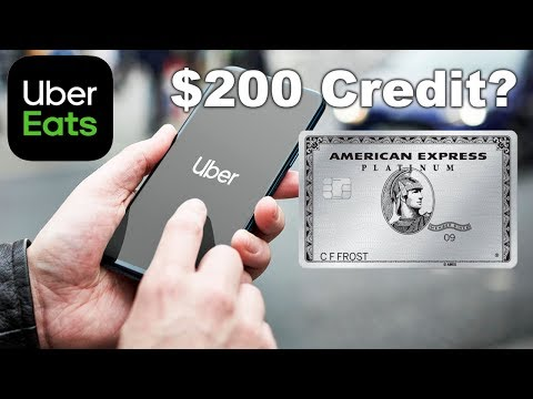 How To Use Uber $200 AMEX PLATINUM Credit?