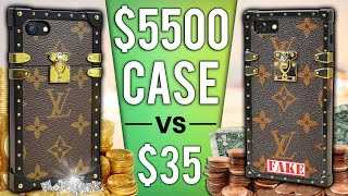 Repeat youtube video $35 iPhone Case vs $5500 Case DROP Test!