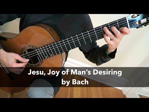 Free PDF: Jesu, Joy of Man's Desiring by Bach for Fingerstyle Guitar