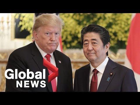 Trump talks trade, North Korea with Japanese PM Shinzo Abe