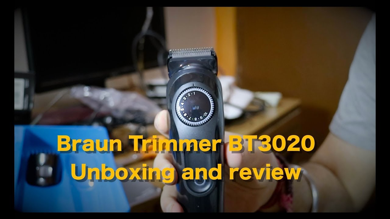 Braun Beard Trimmer Black Angle Zoom