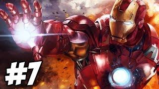 Iron Man 2 Walkthrough | Mission 5 / Mission 6: War Machine | Part 7 (Xbox360/PS3)