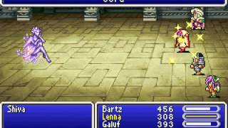 Game Boy Advance Longplay [106] Final Fantasy V Advance (part 2 of 7)
