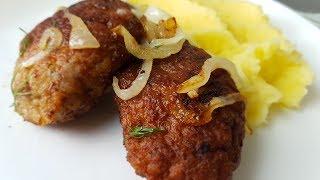 Котлеты домашние, натуральные по - цыгански. Gipsy cuisine.🍖