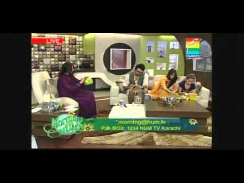 Fahad Mustafa Arisha Razi Sajal Ali On Morning With Hum May 26 P3