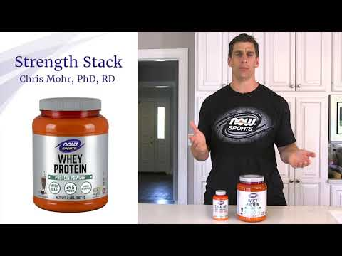 Customized Strength Sports Nutrition Stack | Dr. Chris Mohr for NOW