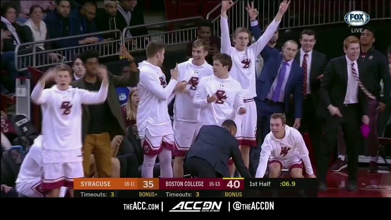 Syracuse Vs Boston College College Basketball Condensed Game 2018