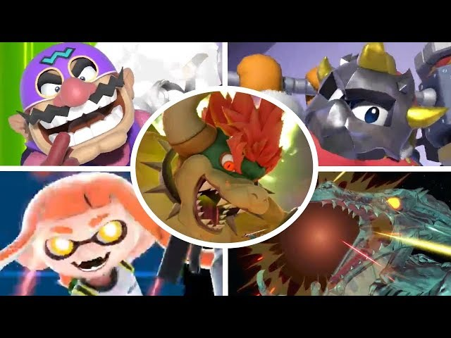 Super Smash Bros Ultimate - All New Final Smashes