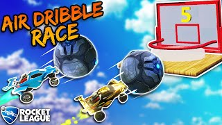 THE ULTIMATE PRO AIR DRIBBLE RACE