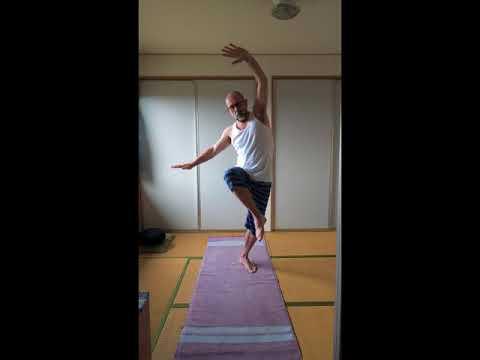 Spinal Active Movements Vinyasa Yoga Practice - actual speed