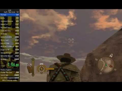 GUN The Hunt IL any% in 3:09 [Current World Record]