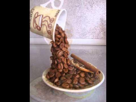 Кофейное дерево, парящвя чашка