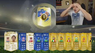 FIFA 15 - SO MANY LEGENDS & TOTY PLAYERS IN 1 PACK OPENING!