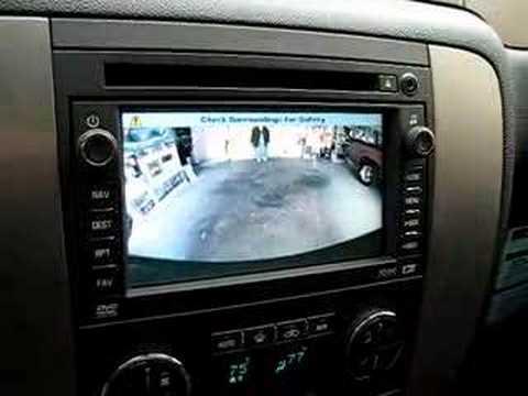 2007 Tahoe Backup Camera Youtube