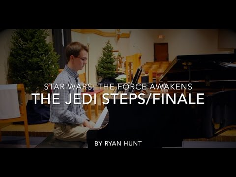The Jedi Steps and Finale - piano cover - Star Wars: The Force Awakens