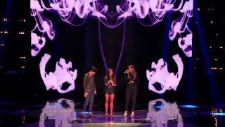 Alex & Sierra and Leona Lewis Bleeding Love THE X FACTOR USA 2013