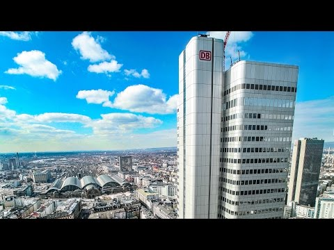 Silver Tower Frankfurt (Deutsche Bahn) | Construction Time Lapse