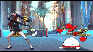 skullgirls gameplay 94 valepeacockfilia vs paraso