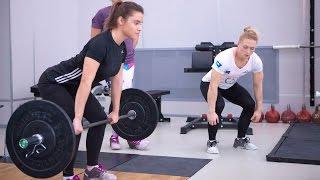 Тяжелая атлетика: Татьяна Каширина и Оксана Сливенко провели толчковый семинар