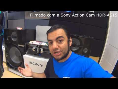 Unboxing (desembalando) Sony Shake 99