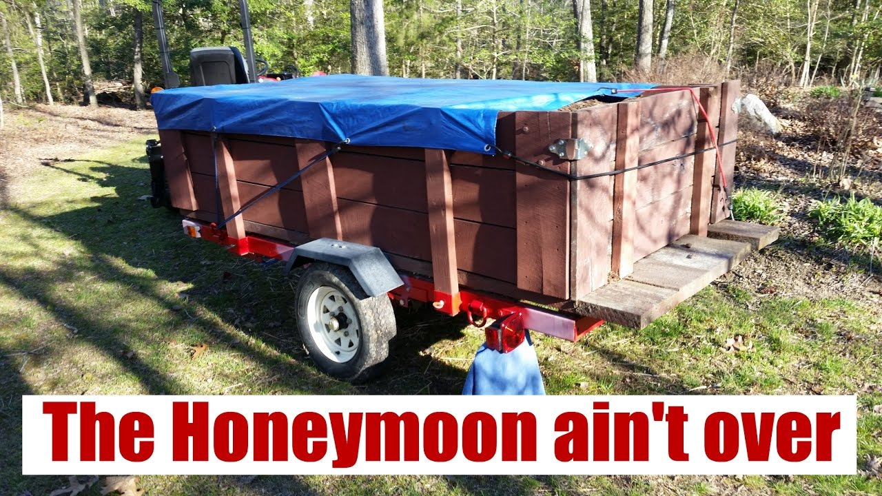 How's the 4'x8' Harbor Freight Trailer Looking a few years in?