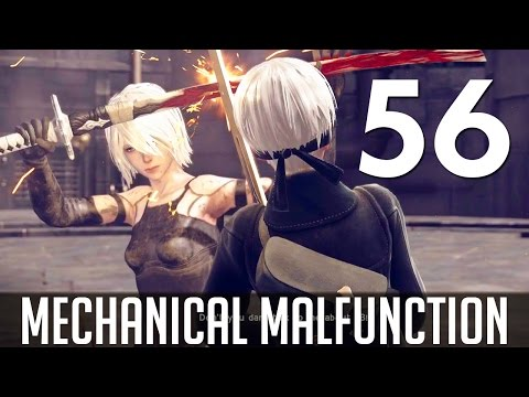 [56] Mechanical Malfunction (Let's Play NieR: Automata PC w/ GaLm)