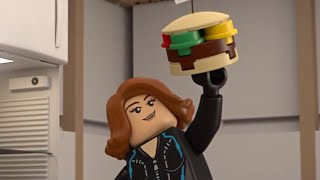 LEGO® Marvel Super Heroes - Black Widow At Lunch Time Mini Movie