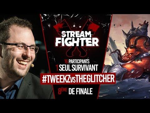 Tweekz vs The Glitcher (viewer) - Stream Fighter