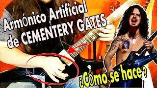 Cómo se toca el ARMÓNICO de CEMENTERY GATES (Amónicos Artificiales)