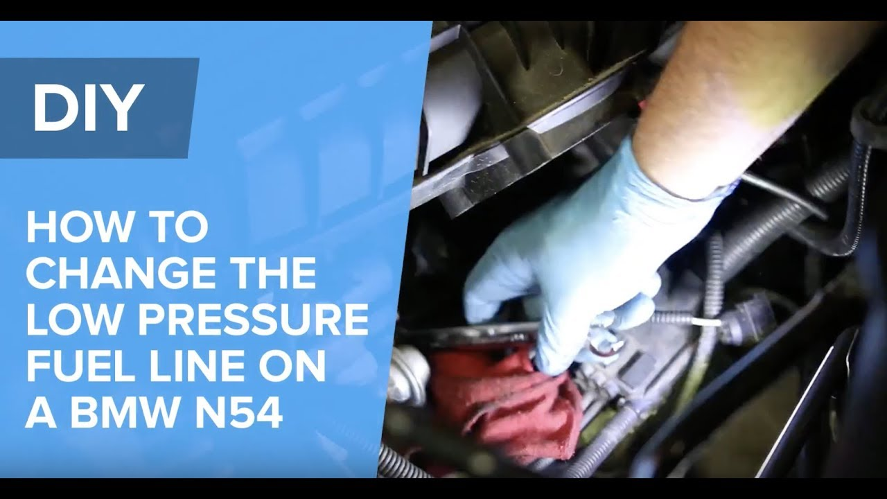 How To Replace The Low-Pressure Fuel Line On A BMW N54