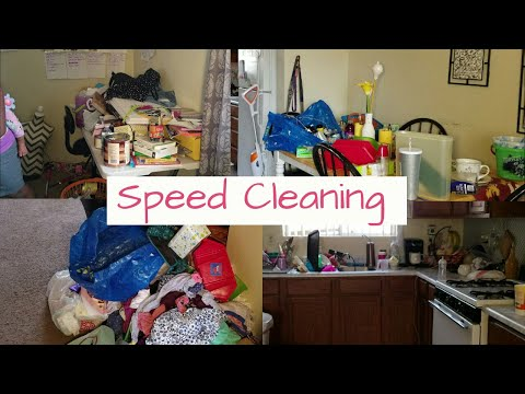 Motivational Cleaning My Messy House/ Real life / Power Hour / Clean With me/ Realistic Cleaning