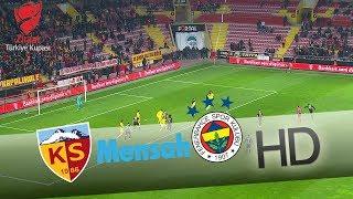 Mensah'ın şutunu Harun kurtarıyor! | Hes Kablo Kayserispor - Fenerbahçe