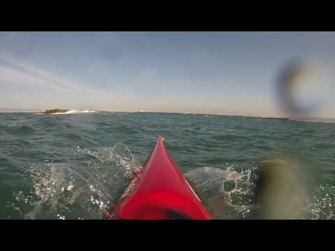 Scary Moment in a Sea Kayak.