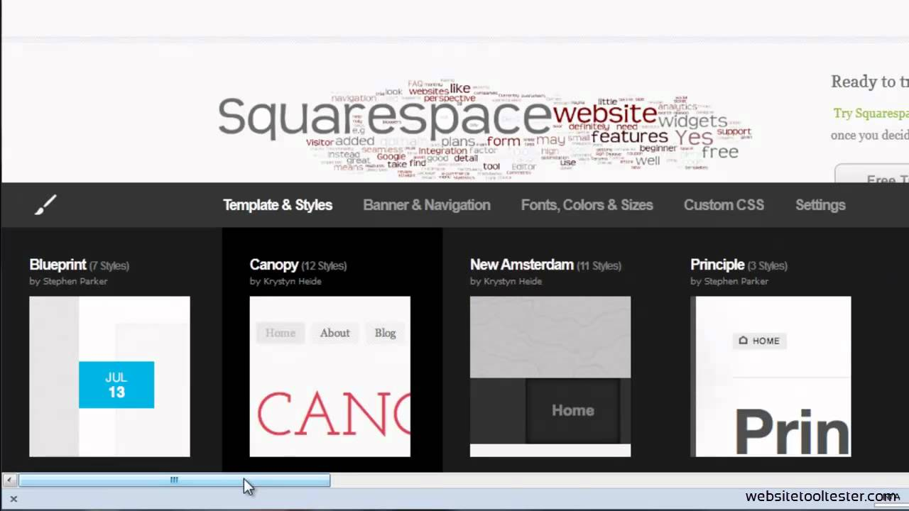 Squarespace review pros and cons of this premium website builder squarespace review pros and cons of this premium website builder malvernweather Image collections