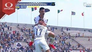 Gol de Mora |  Pumas 2 - 2 Morelia | Clausura 2019 - J 10 | Televisa Deportes