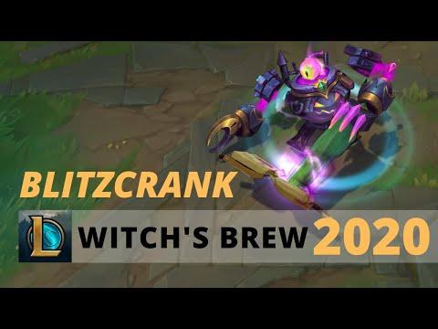 Witch's Brew Blitzcrank 2020 - League Of Legends