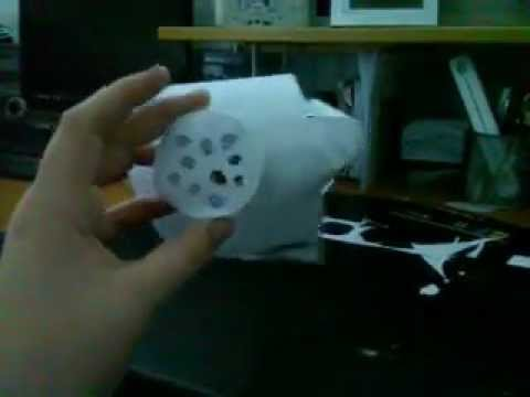 Paper gas mask