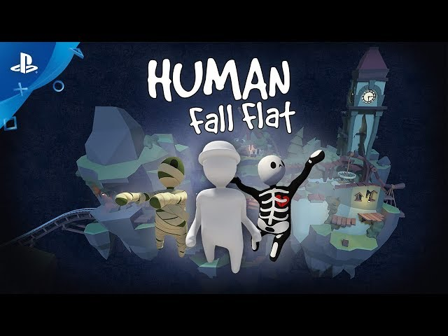 Human: Fall Flat - Dark Update Out Now Trailer | PS4