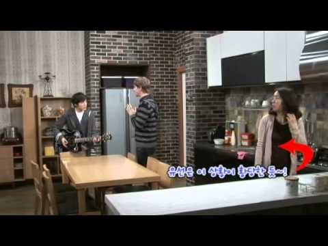 111229 High Kick 3 episode 66 behind the scenes - Krystal, Seungyoon, Naesang
