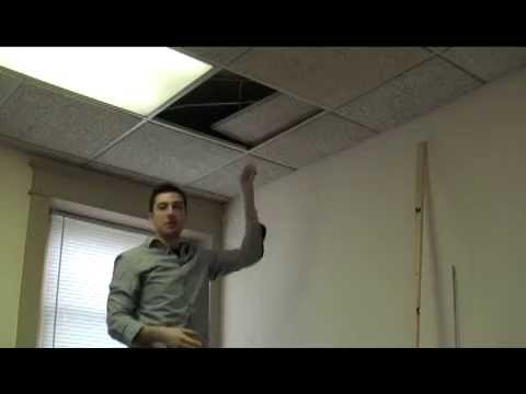 How To Install Acoustic Blankets From A, Sound Insulating Drop Ceiling Basement