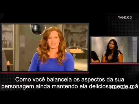 Entrevista da Rebecca legendada dada ao Yahoo TV na estreia de OUAT 5 temporada.