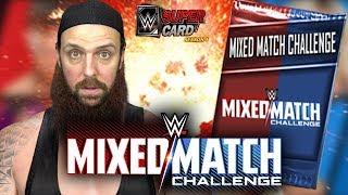 MIXED MATCH CHALLENGE PACK OPENING WWE SuperCard Season 4
