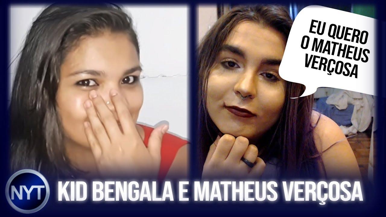 Tigresa VIP convida Kid Bengala para gravar com ela e Alice do Bluezão convida Matheus Verçosa