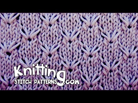 Knitting Stitch Embroidery Patterns : Embroidery Stitch - YouTube