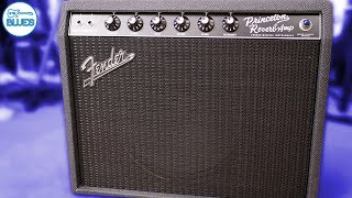 "The Fender Princeton Reverb FSR Amplifier Loaded with a 12"" Alnico Blue (LOUD)"